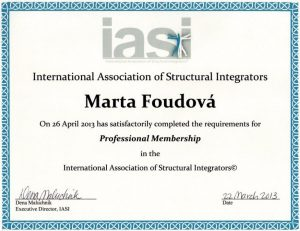 Certifikát IACI